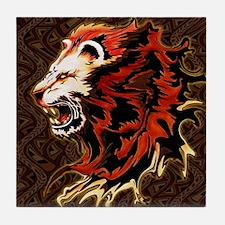 King Lion Roar Tile Coaster