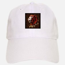 King Lion Roar Baseball Baseball Cap