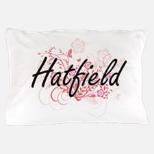 Hatfield surname artistic design with Pillow Case