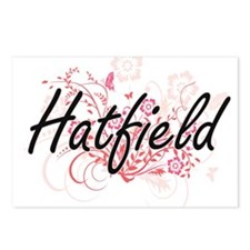 Hatfield surname artistic Postcards (Package of 8)