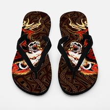 King Lion Roar Flip Flops