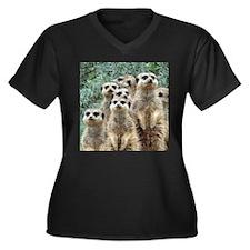 Meerkat012 Plus Size T-Shirt