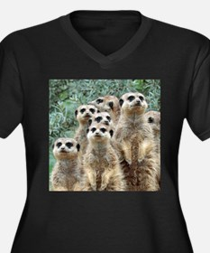 Meerkat012 Plus Size T-Shirt