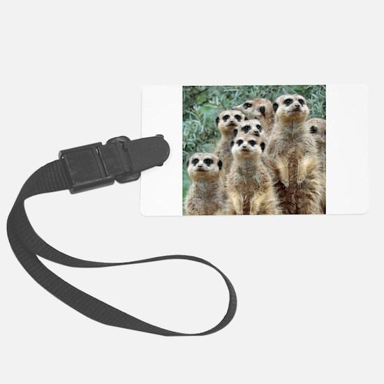 Meerkat012 Luggage Tag