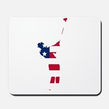 Golfer American Flag Mousepad