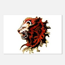 King Lion Roar Postcards (Package of 8)