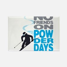 Cute Winter sports Rectangle Magnet