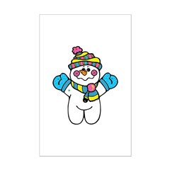 Cute Baby Snowman Posters