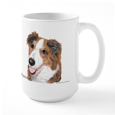 English Shepherd Large Mug