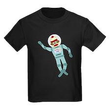 Sock Monkey Astronaut T
