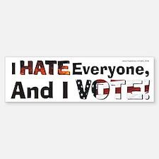 """Democracy..."" Bumper Bumper Bumper Sticker"