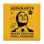 Asparagus Awesome Bush Tile Coaster