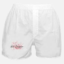 Web Designer Artistic Job Design with Boxer Shorts