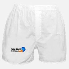 """Win Back Former Customers"" Boxer Shorts"