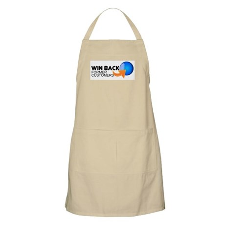 """Win Back Former Customers"" BBQ Apron"