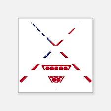 Billiards American Flag Sticker