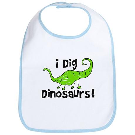 I Dig Dinosaurs! Bib
