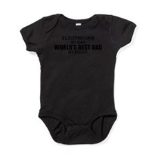 Cute Career dad Baby Bodysuit