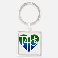 Cute Lake tahoe Square Keychain