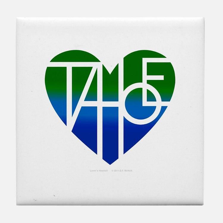 Cute Tahoe Tile Coaster