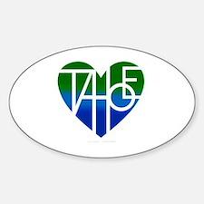 Unique Lake tahoe Sticker (Oval)