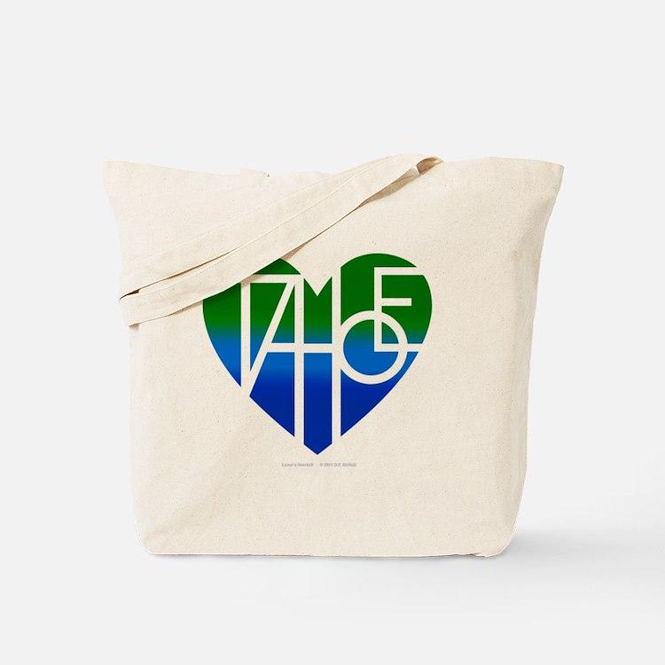 Cute Lake tahoe Tote Bag