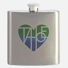 Cute Lake tahoe Flask