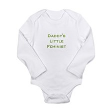 Girl power Long Sleeve Infant Bodysuit