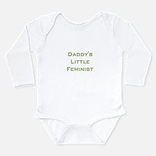 Unique Baby political Long Sleeve Infant Bodysuit