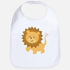 Baby lion Bib