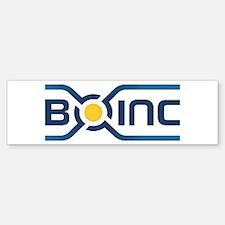Boinc Logo Bumper Bumper Bumper Sticker
