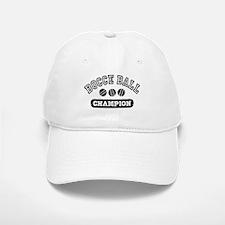 Bocce Ball Champion Baseball Baseball Cap