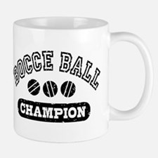 Bocce Ball Champion Mug