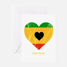 Unique Rastafarian Greeting Cards (Pk of 20)