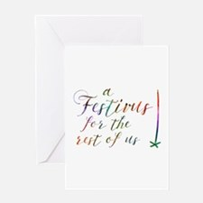 a FESTIVUS FOR THE REST OF US™ Greeting Cards