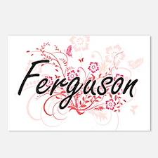 Ferguson surname artistic Postcards (Package of 8)