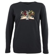 Funny Fantasy art Plus Size Long Sleeve Tee