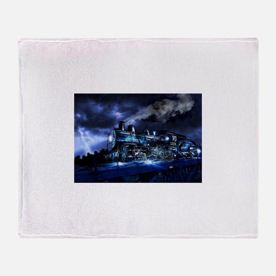Midnight Express Throw Blanket