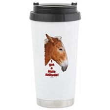 Cute Mules Travel Mug
