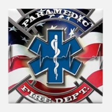 American Paramedic Tile Coaster