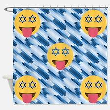 Cute Chanukkah Shower Curtain