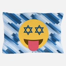 hanukkah chanukkah emoji Pillow Case