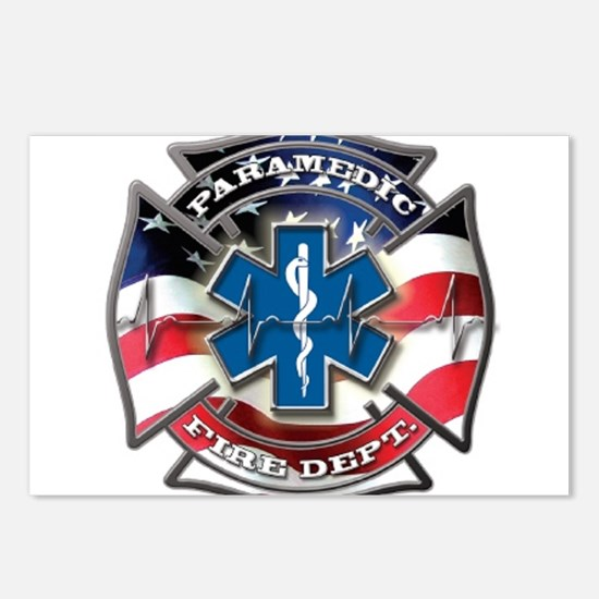 American Paramedic Postcards (Package of 8)