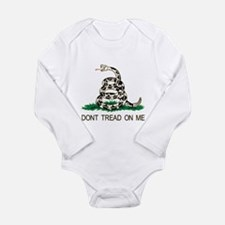 Tread me Long Sleeve Infant Bodysuit