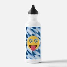 hanukkah chanukkah emo Water Bottle