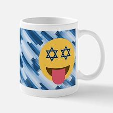 hanukkah chanukkah emoji Mugs