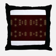 golden star Throw Pillow