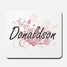 Donaldson surname artistic design with F Mousepad