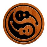 Musician Round Car Magnets