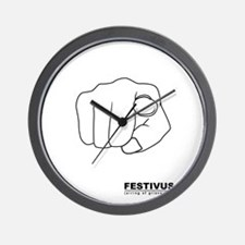 festivus airing of grievances Wall Clock